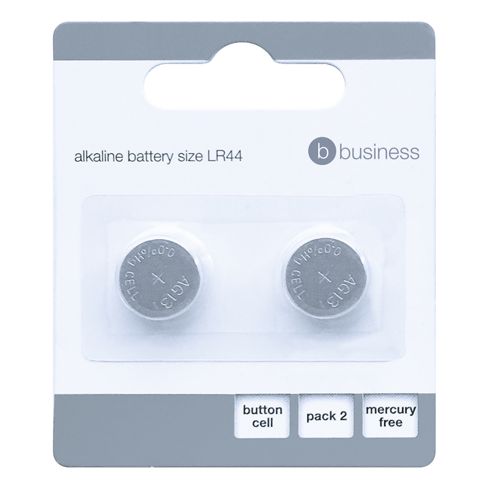Business Batteries LR44 / 76 FSB-2 [Pack 2]
