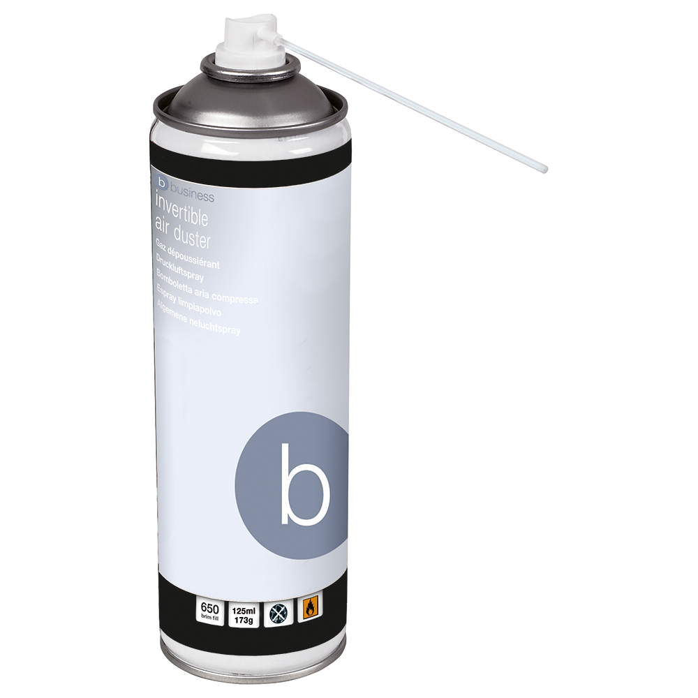 Business Compressed Air Duster Flammable 125ml