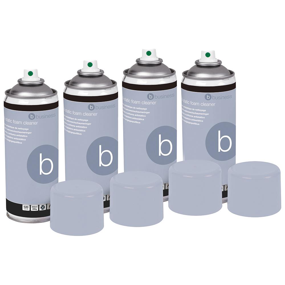 Business Anti-Static Foam Cleaner [Pack 4]
