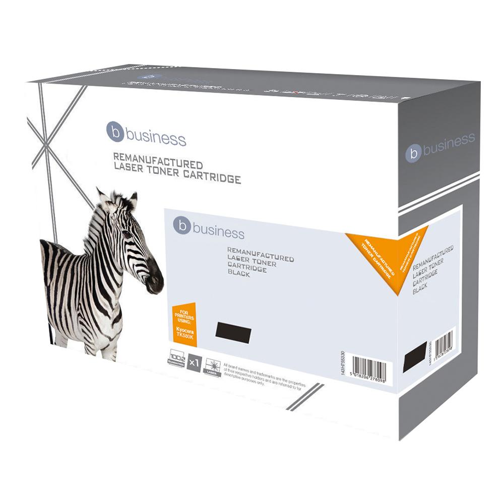 Business Remanufactured Laser Toner Cartridge 3500pp Black [Kyocera 1T02KT0NL0 Alternative]