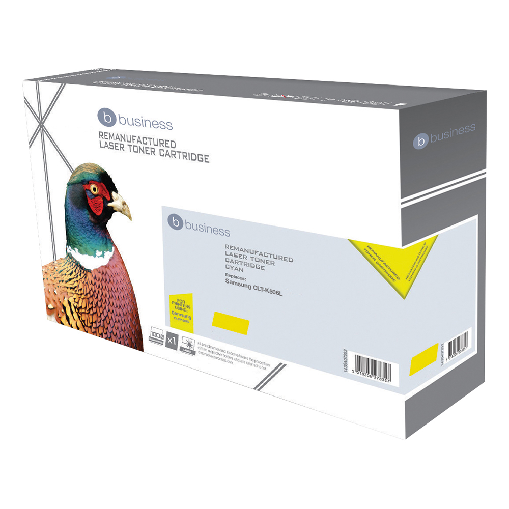 Business Remanufactured Laser Toner Cartridge 1500pp Yellow [Samsung CLT-T506S Alternative]