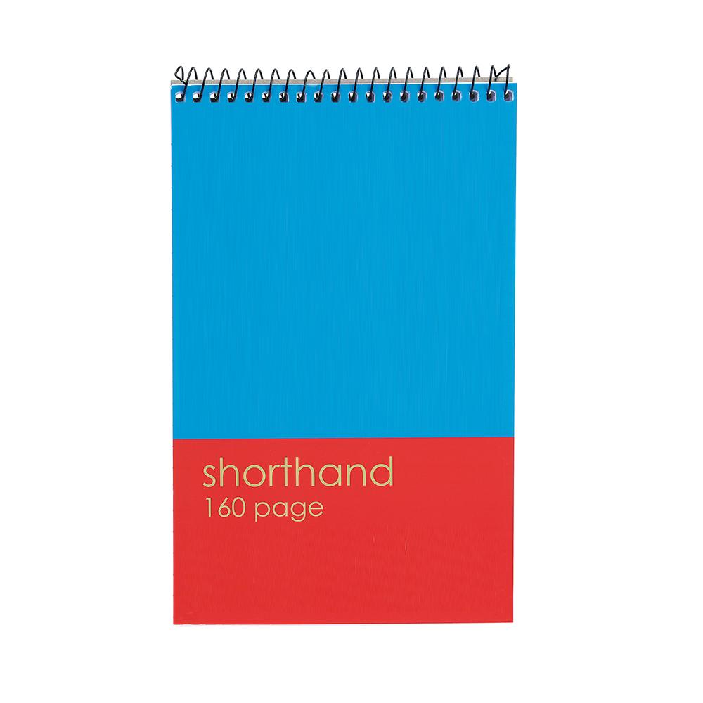 Basics Spiral Notepad 80 Sheets [Pack 10]