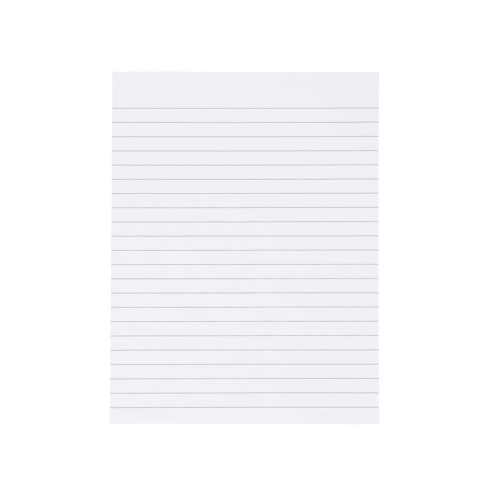 Basics Memo Pad Ruled 80 Sheets 200x150mm [Pack 10]