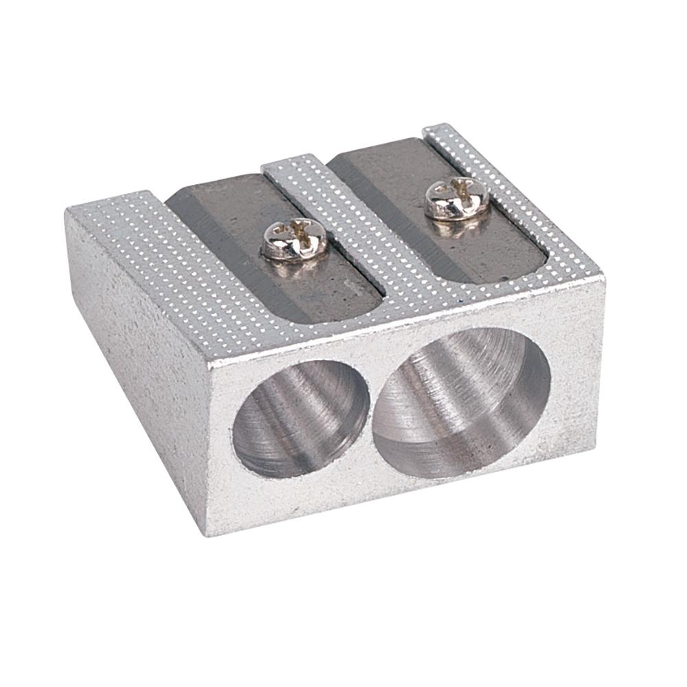 Business Sharpener Metal 2 Hole 8mm Diameter [Pack 24]