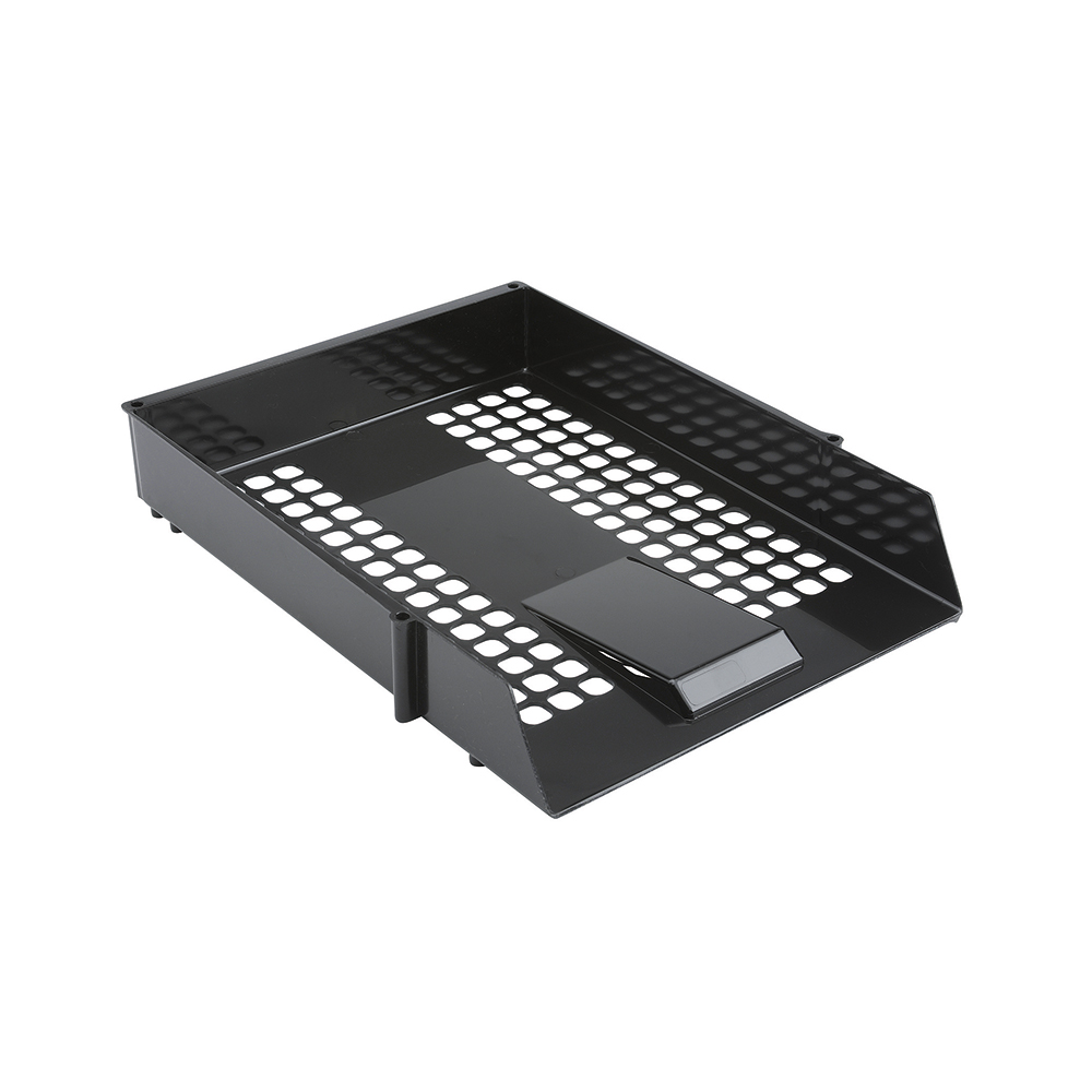 Basics Letter Tray Black