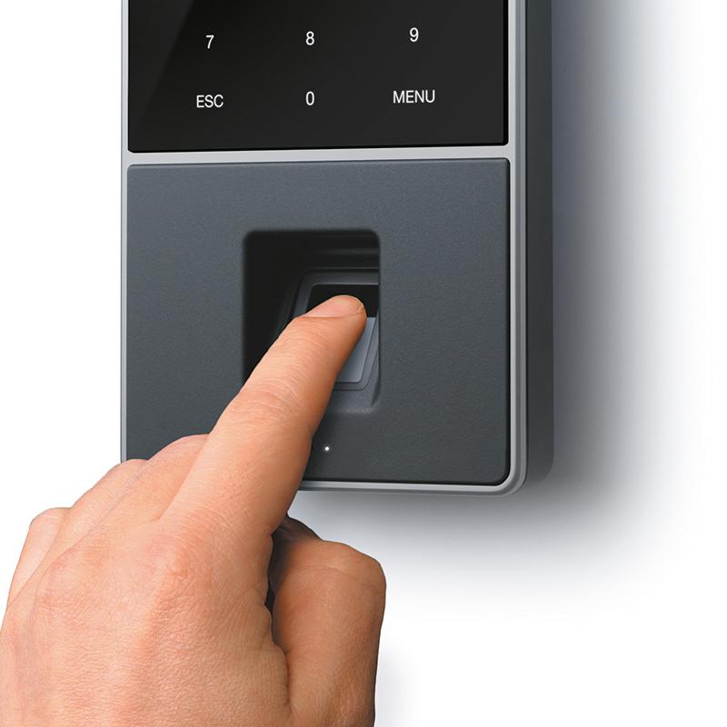 Safescan TimeMoto TM-828 Time & Attendance System 2000 Users RFID/Fingerprint Black Ref 125-0588