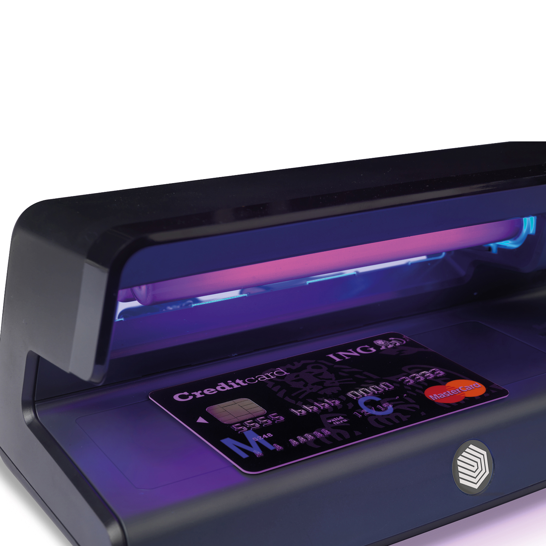 Safescan 50 UV Counterfeit Detector Checker 0.515g L206xW102xH88mm Black Ref 131-0399