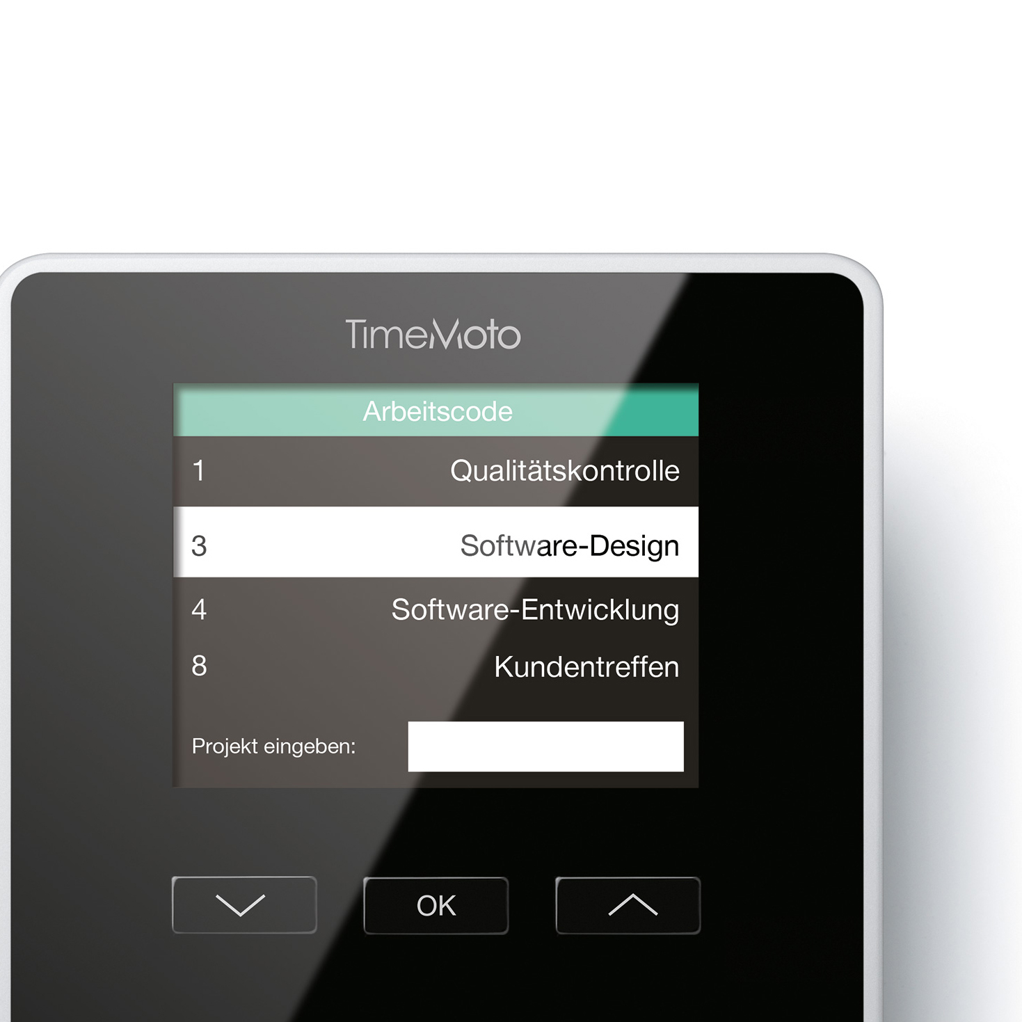 TimeMoto by Safescan TM-626 Time & Attendance System 200 Users RFID/Fgrprint/Fob/PIN Black Ref 125-0586