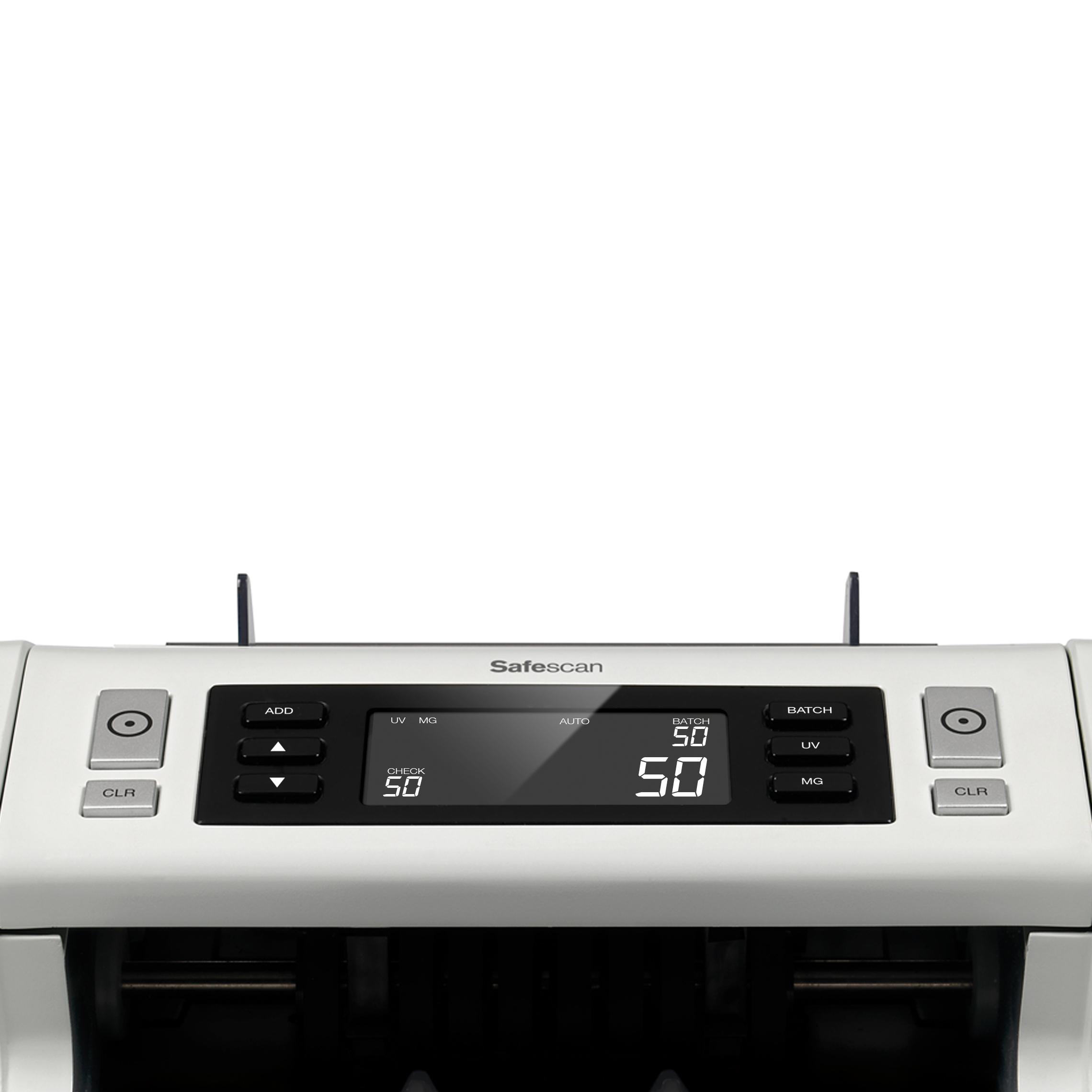Safescan 2250 Banknote Counter & Checker 5.8kg L250xW295xH184mm Grey Ref 115-0561