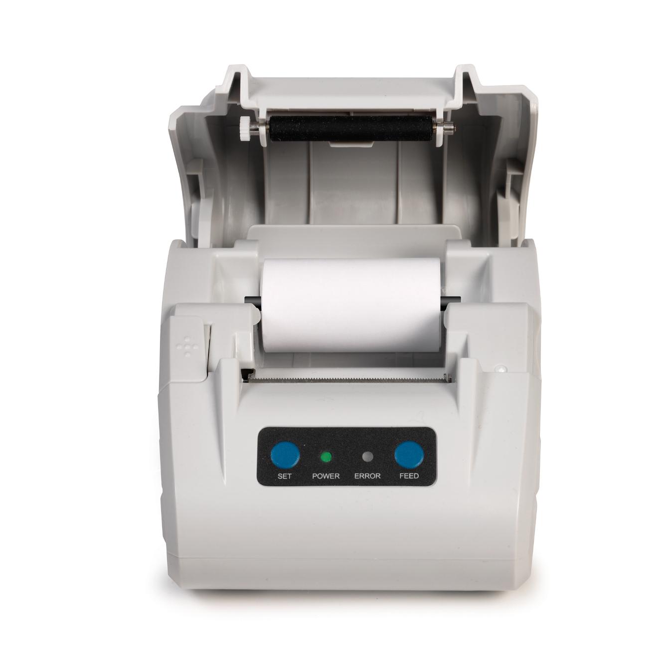 Safescan TP-230 Thermal Receipt Printer 0.375kg L200xW138xH120mm Light Grey Ref 134-0475