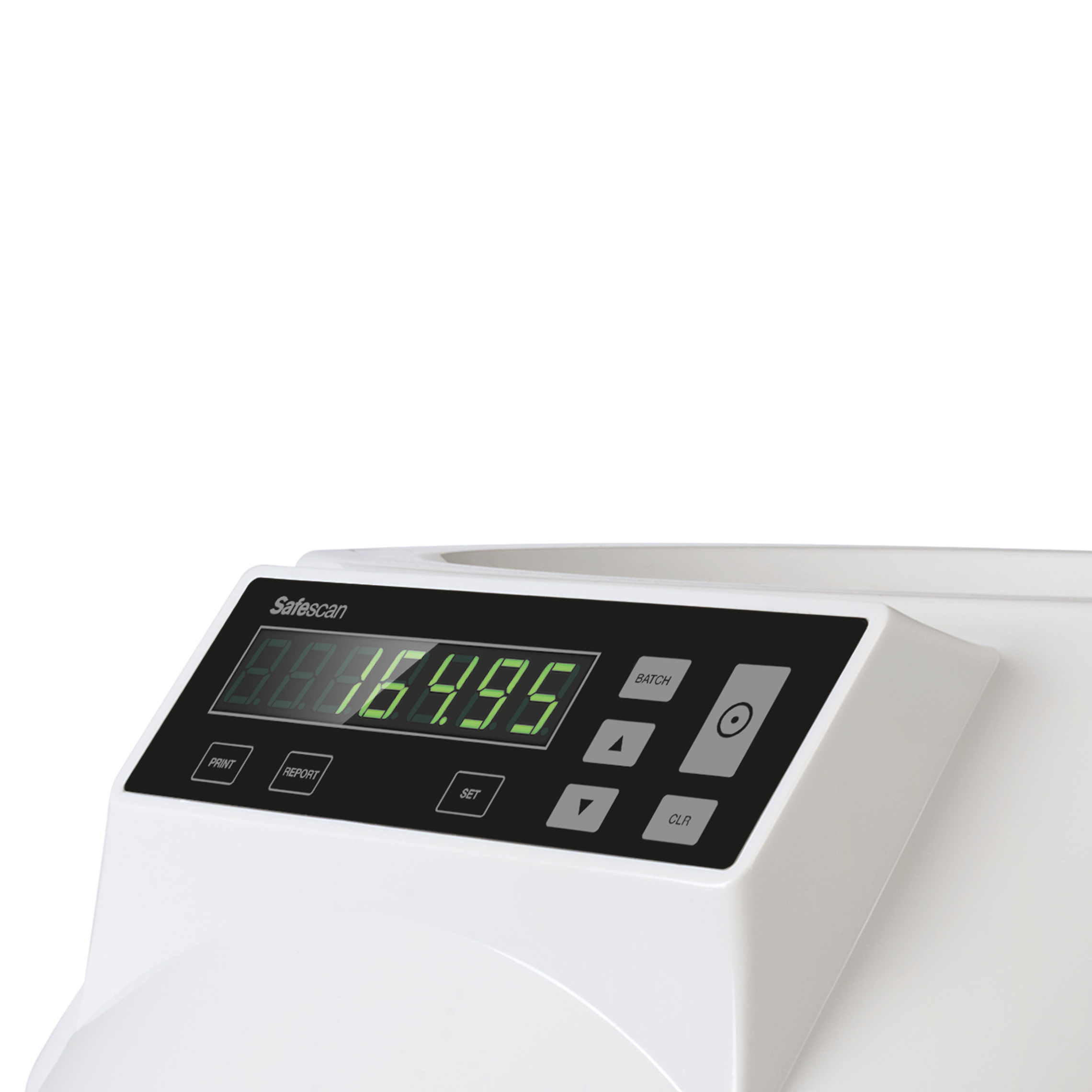 Safescan 1250 GBP Coin Counter & Sorter For Sterling 5kg L355xW330xH266mm Grey Ref 113-0568