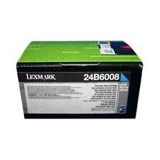 Lexmark Laser Toner Cartridge Page Life 3000pp Cyan Ref 24B6008