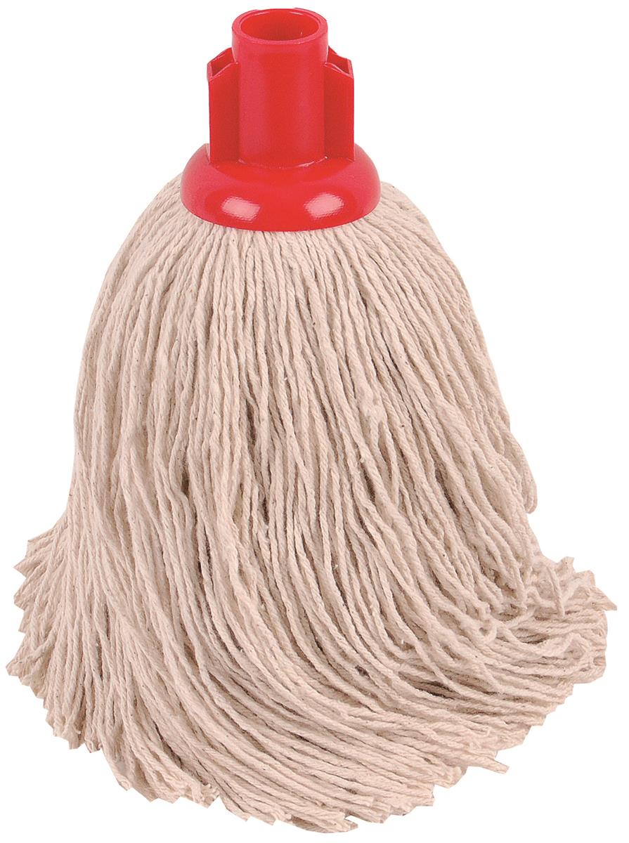 Robert Scott & Sons Socket Mop for Rough Surfaces PY 16oz Red Ref 101858RED [Pack 10]