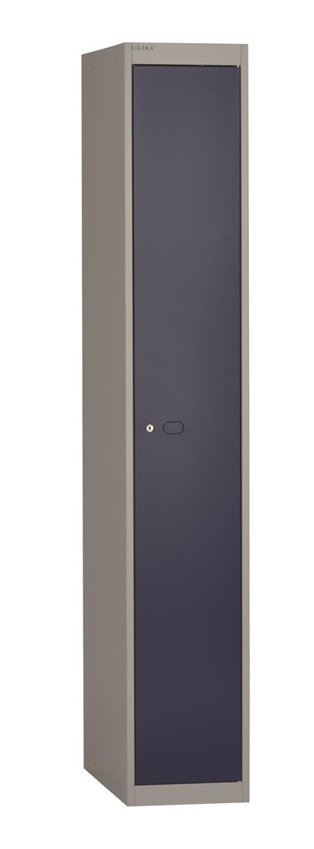 Image for Bisley Steel Locker 457 One Door Grey/Blue