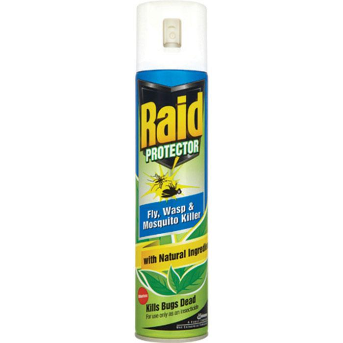 Image for Raid Fly Wasp & Mosquito Killer Aerosol 300ml Ref 95824