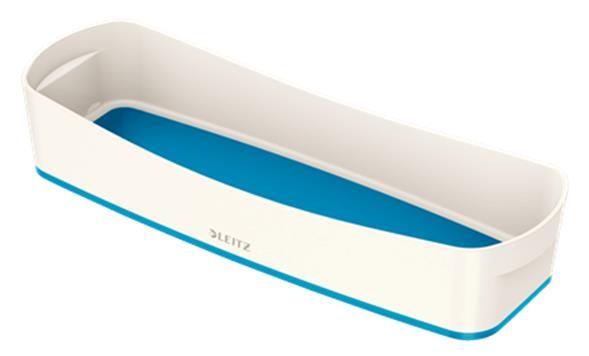 Leitz MyBox Long Organiser Tray ABS Material W307xD105xH55mm White/Blue Ref 52581036