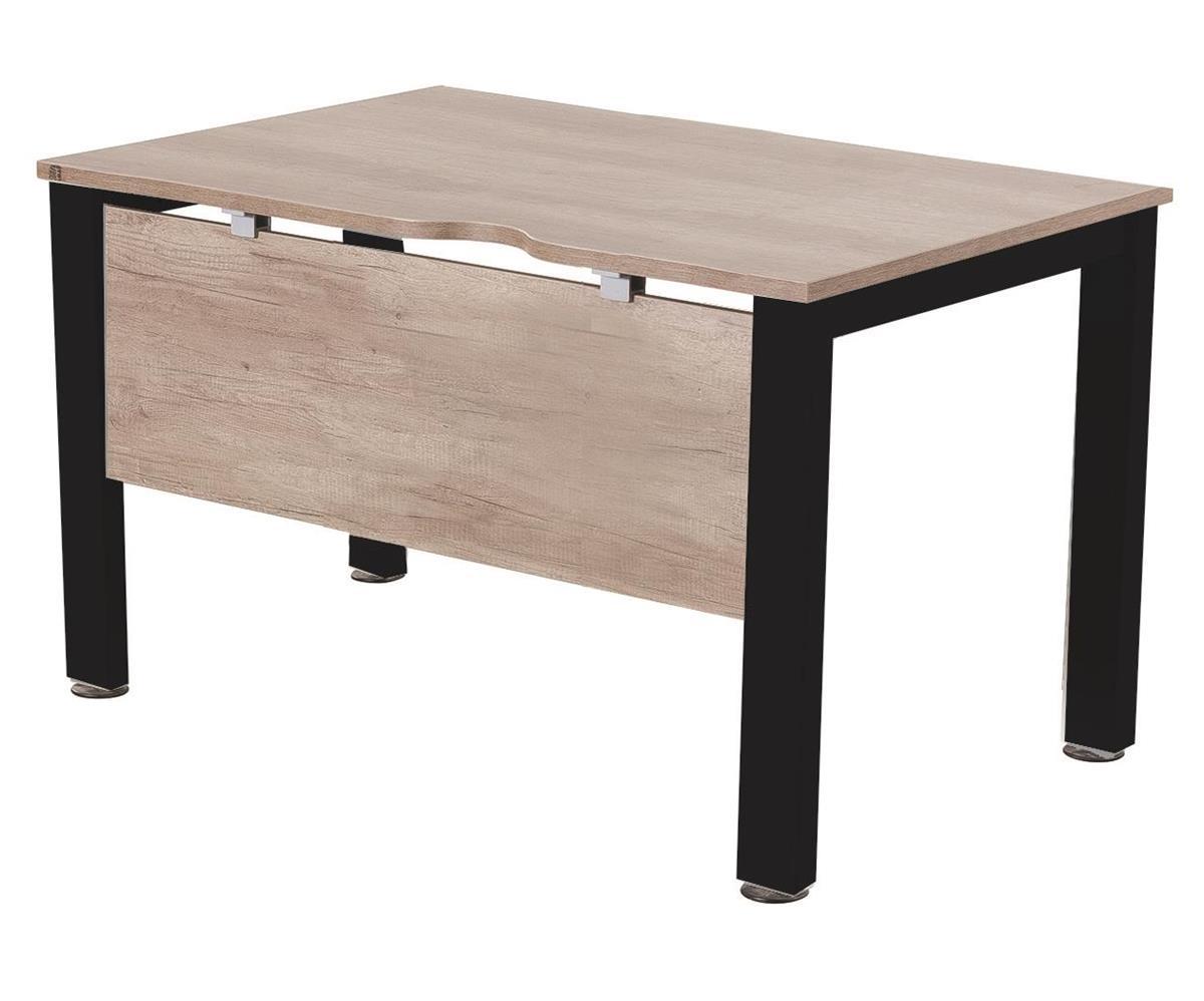 Image for Sonix Standalone Desk Black Legs 800mm Winter
