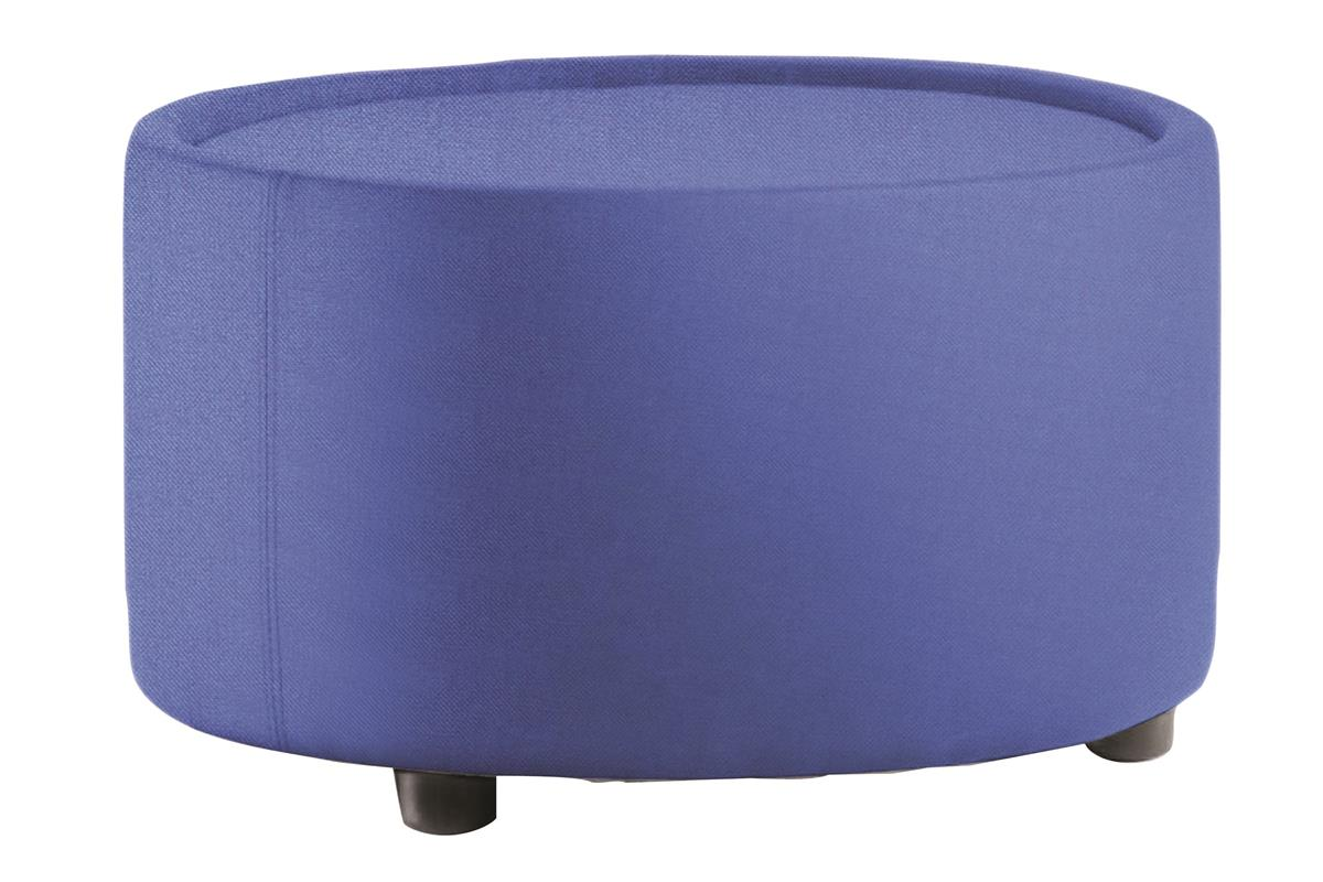 Image for Trexus Reception Chair Pre-assembled Fabric Blue