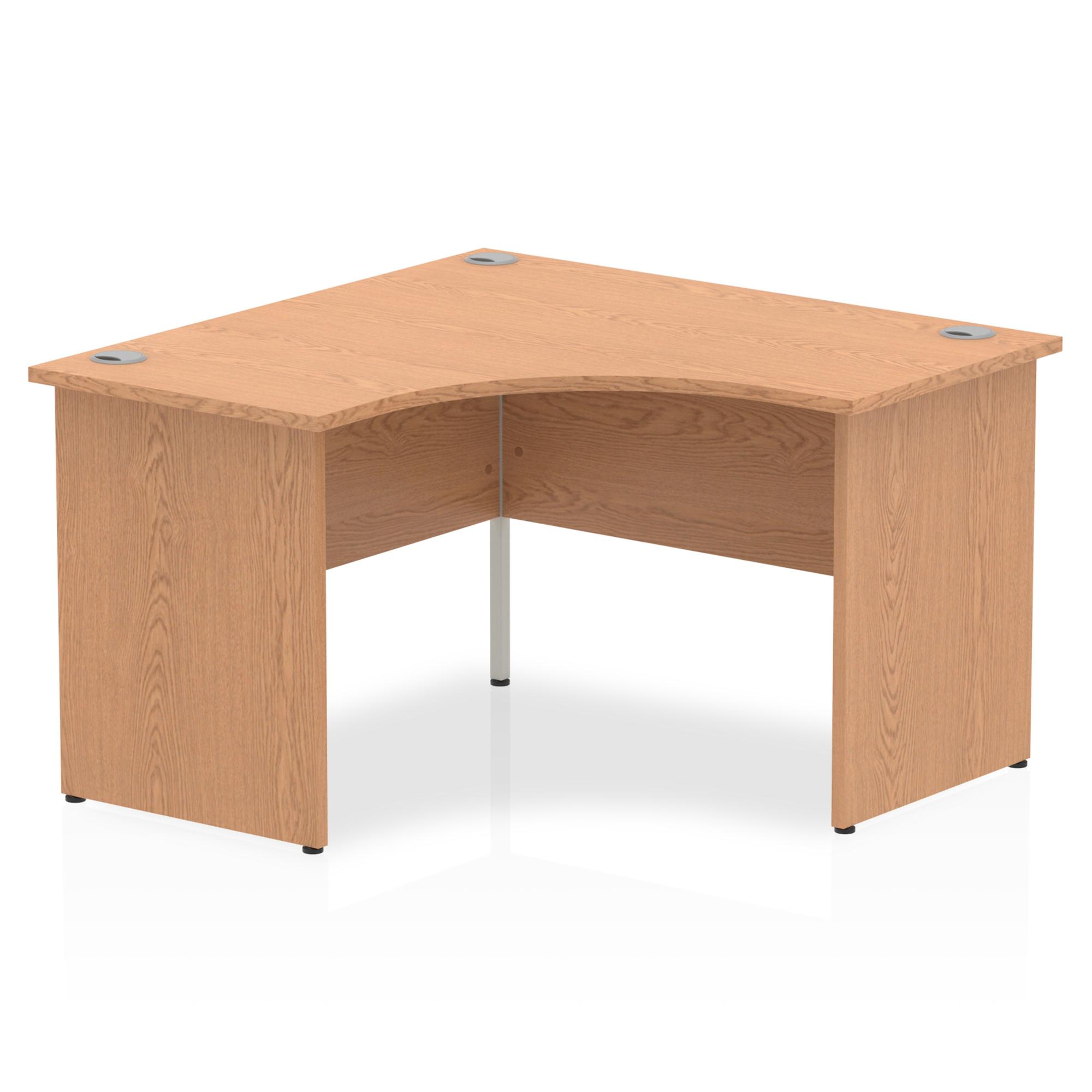 Trexus Call Centre Desk Panel End 1200x1200mm Oak Ref I000841
