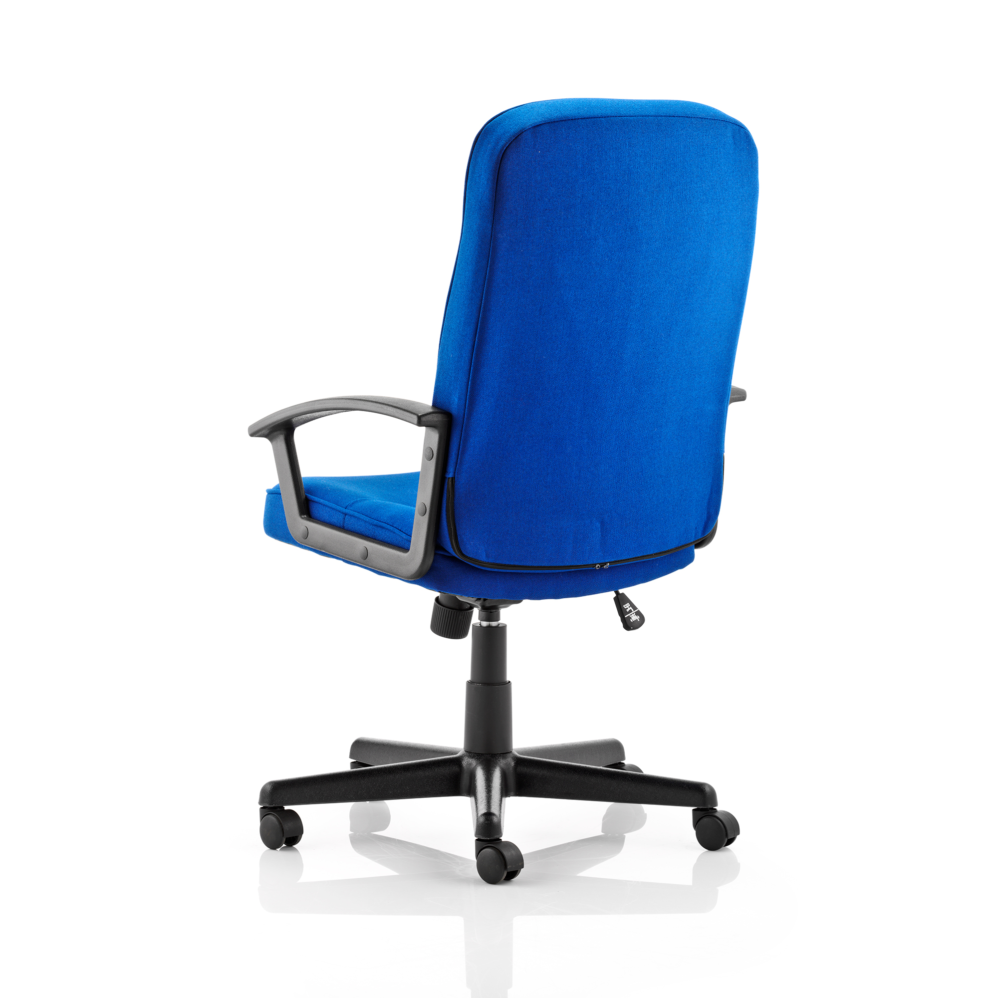 Trexus Harley Executive Chair With Arms Fabric Blue Ref EX000036