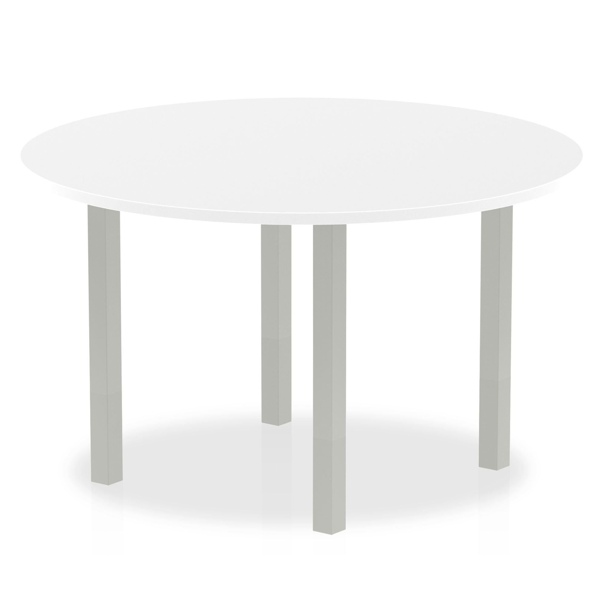 Trexus Meeting Table Round 1200mm White Ref I000200