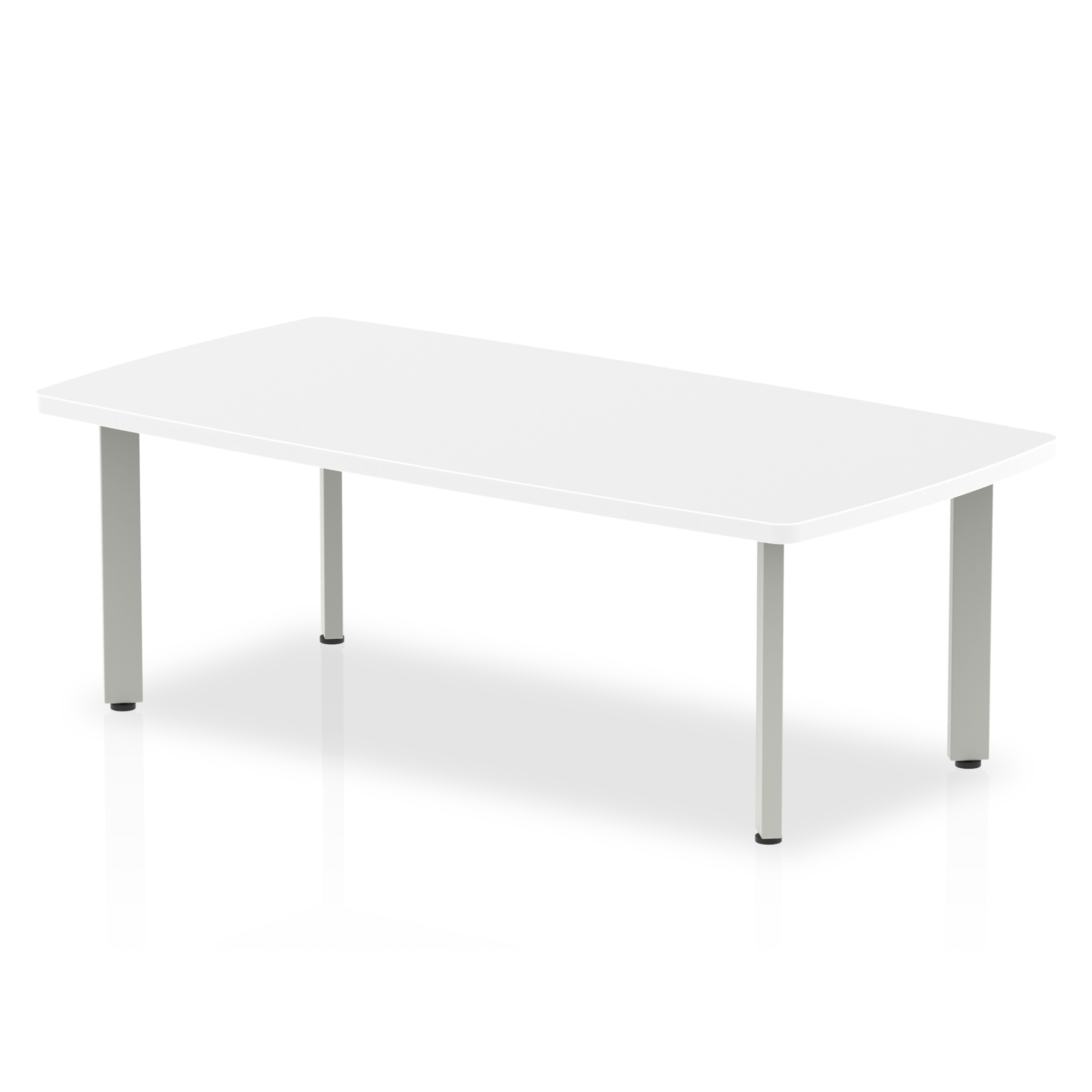 Trexus Coffee Table 1200x600x450mm White Ref I000202