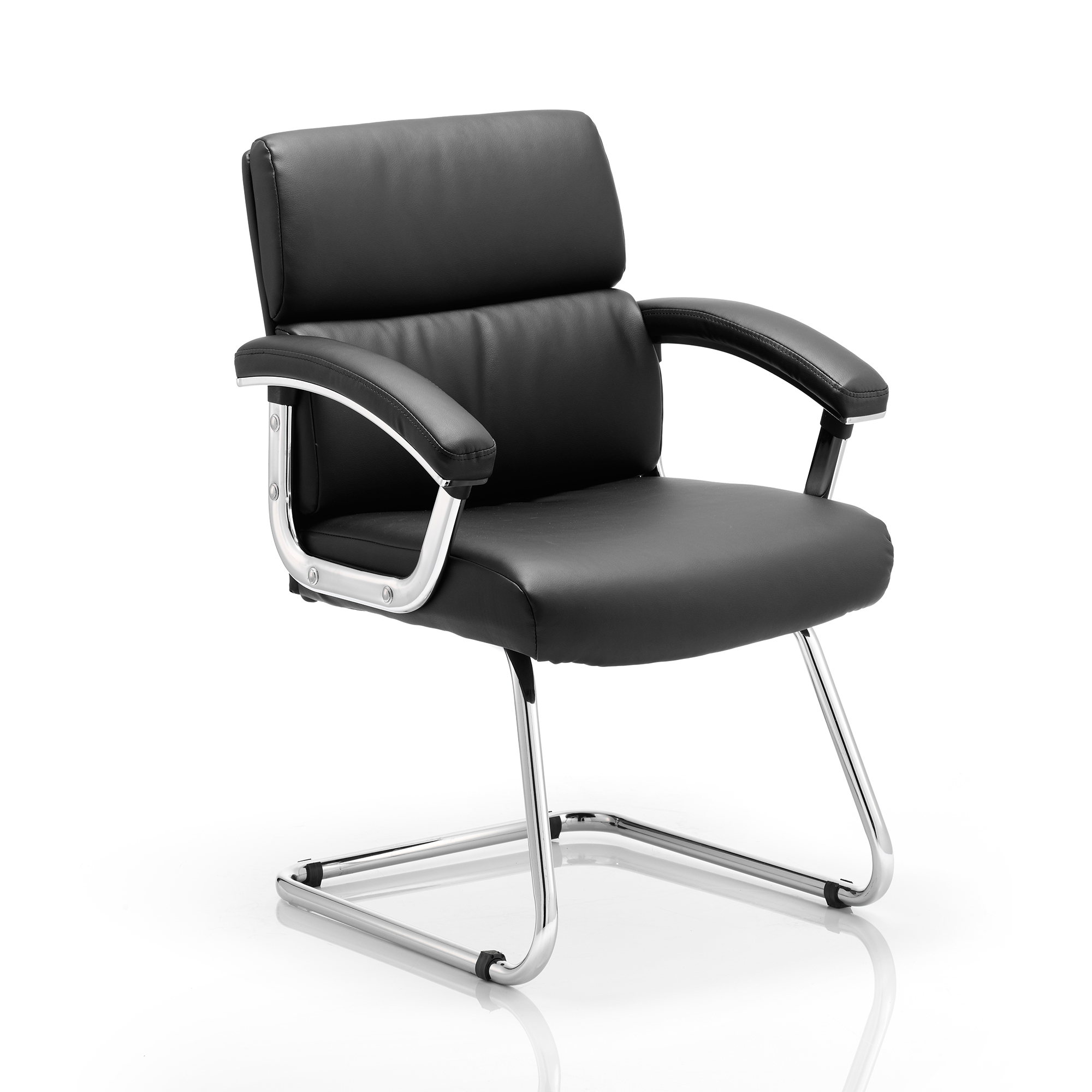 Sonix Desire Cantilever Chair With Arms Black Ref BR000033