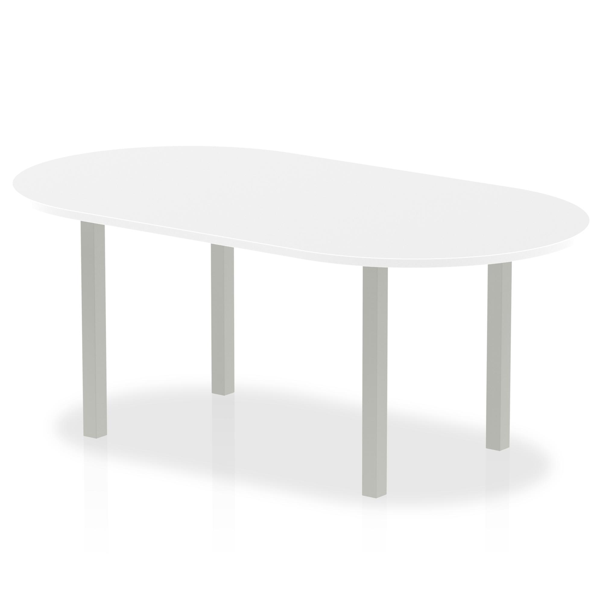 Trexus Boardroom Table 1800x1200x730mm White Ref I000203