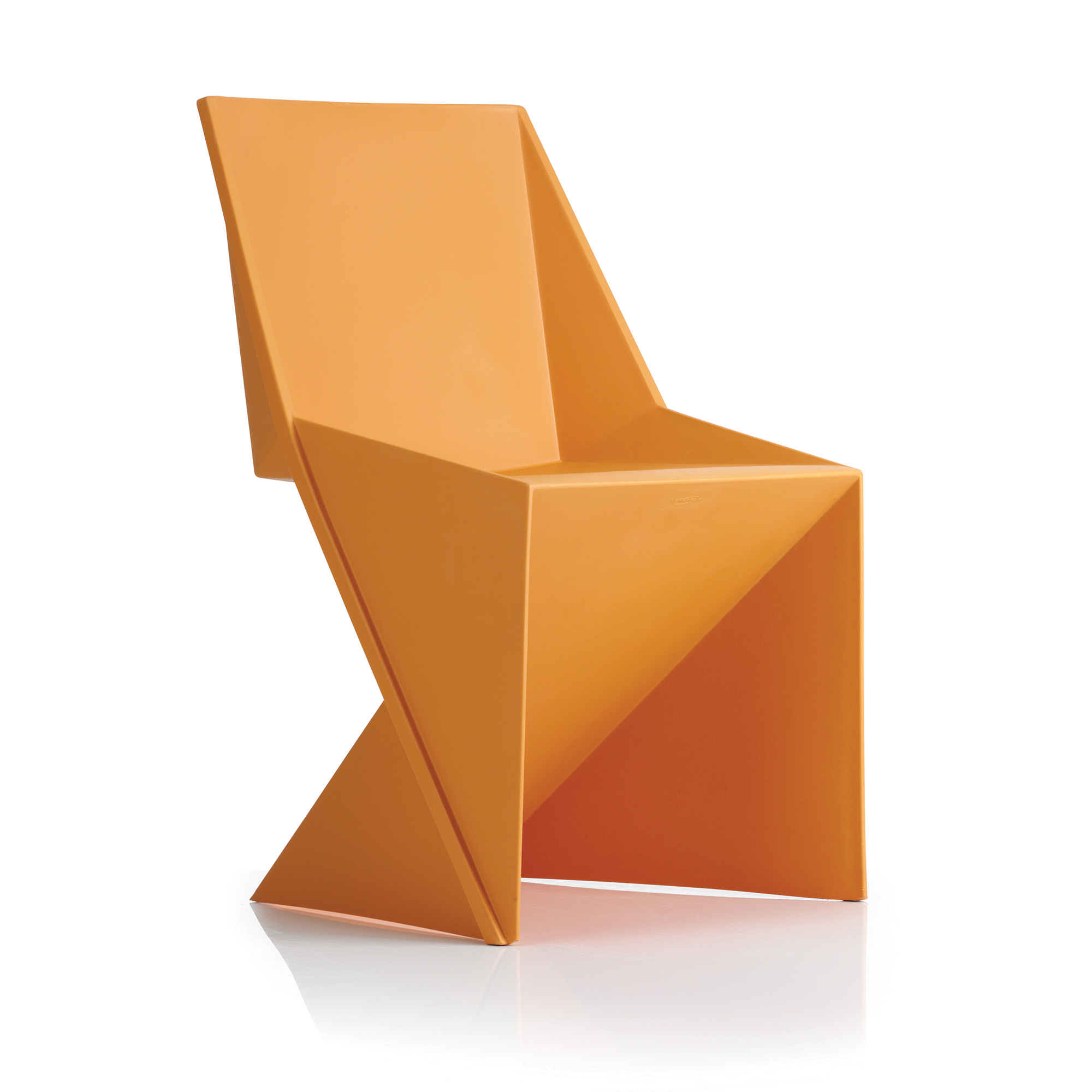 Auditorium or stadium or special use seating Trexus Freedom Visitor Stacking Chair Polypropylene Mango Ref BR000041