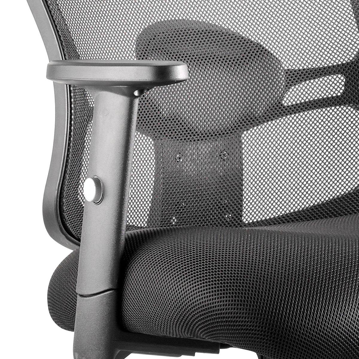 Sonix Portland II Task Operator Chair With Arms Mesh Black Ref OP000108