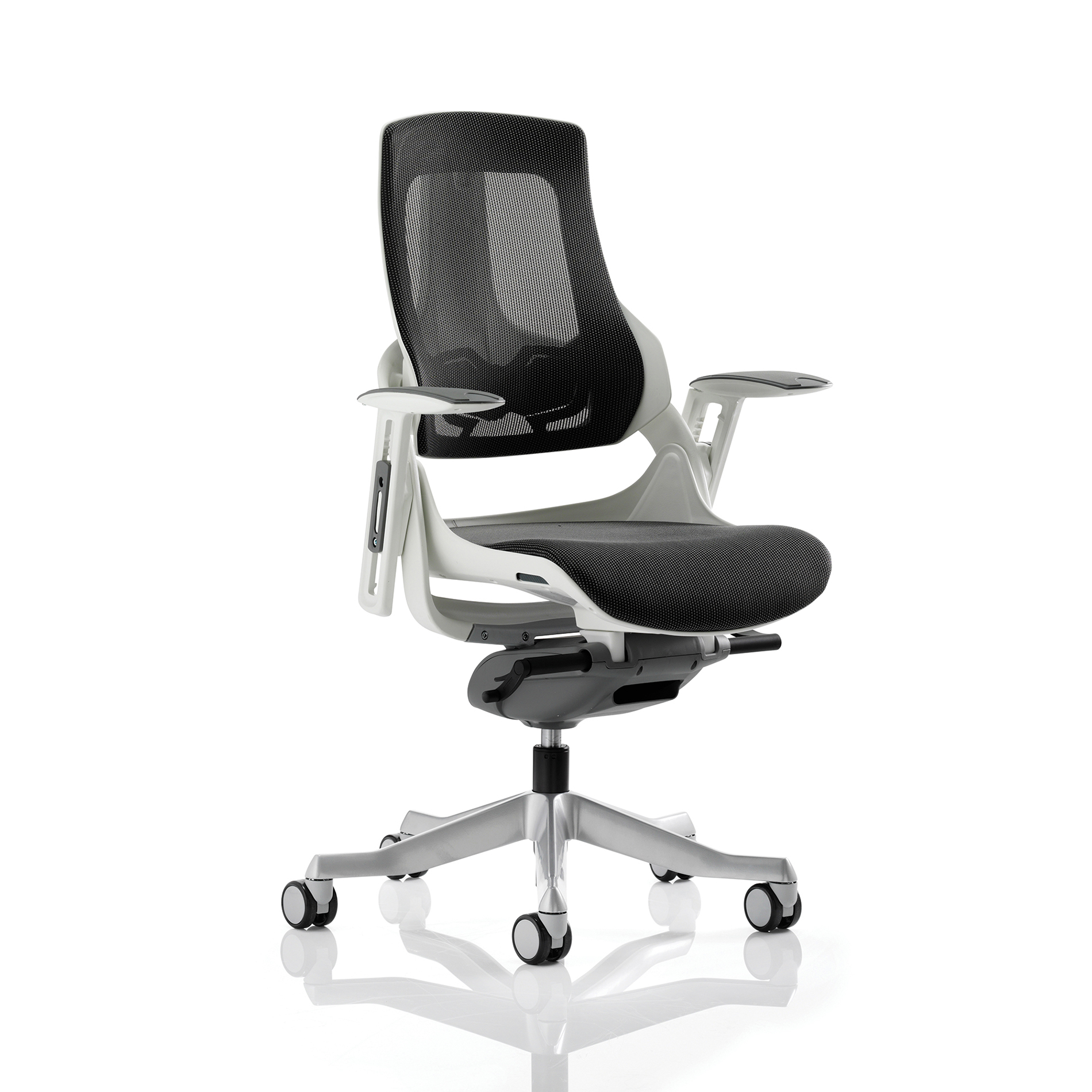 Adroit Zure Executive Chair With Arms Mesh Charcoal Ref EX000111