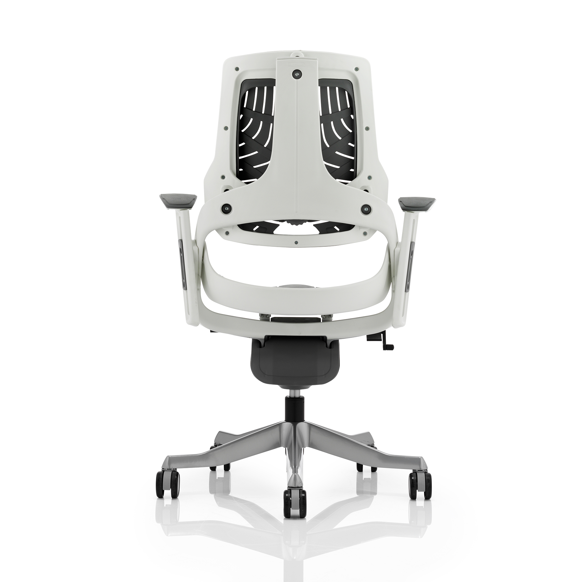 Adroit Zure Executive Chair With Arms Elastomer Gel Grey Ref EX000112