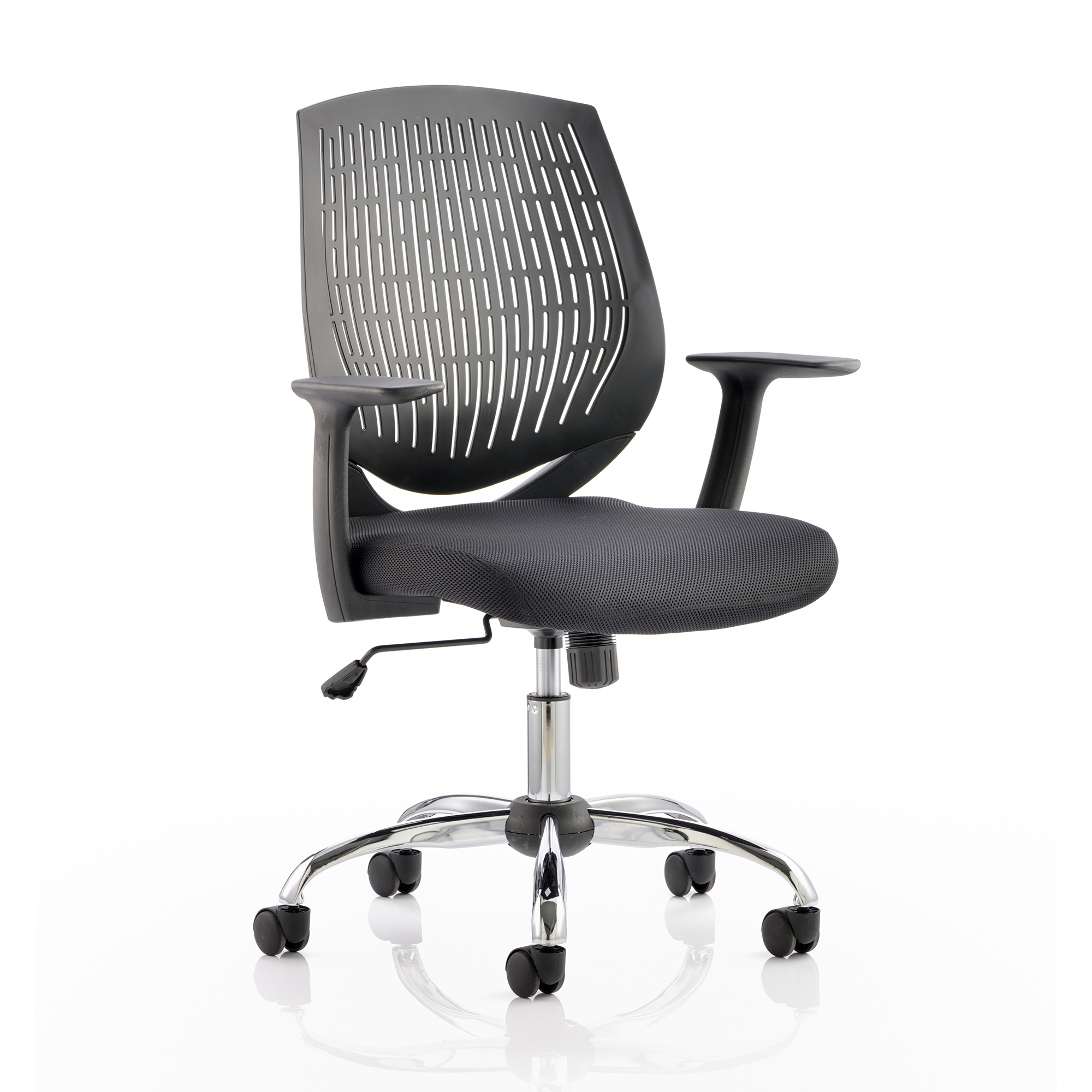 Guest seating Trexus Dura Task Operator Chair With Arms Black Ref OP000014