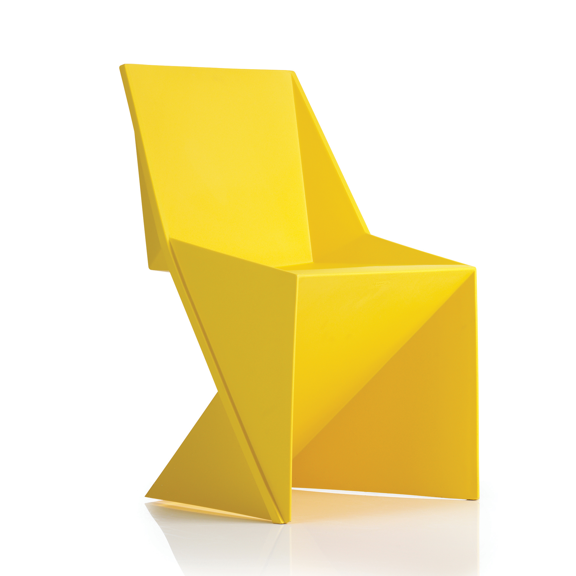 Trexus Freedom Visitor Stacking Chair Polypropylene Yellow Ref BR000044
