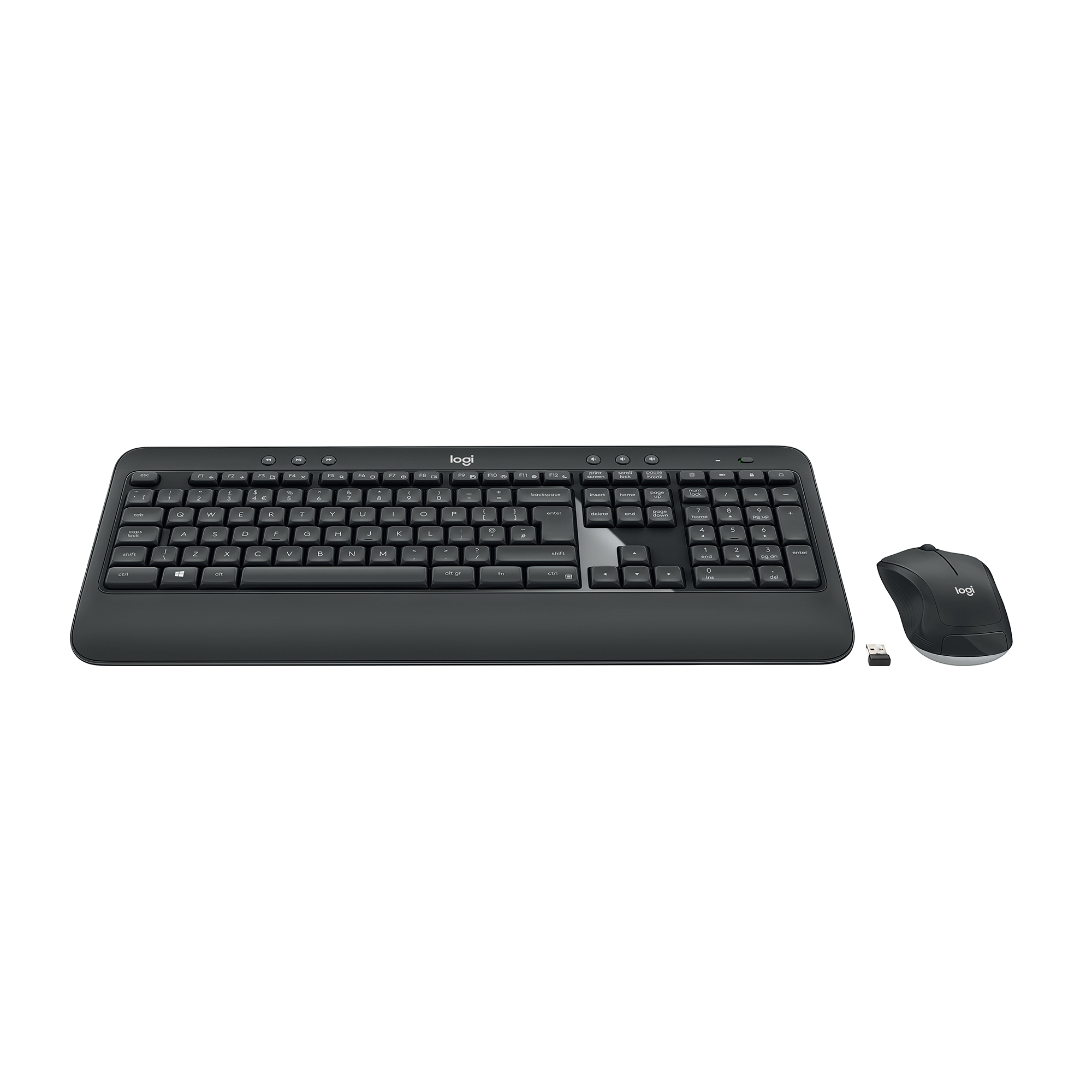 Logitech MK540 Wireless Keyboard And Mouse Set Black Ref 920-008684