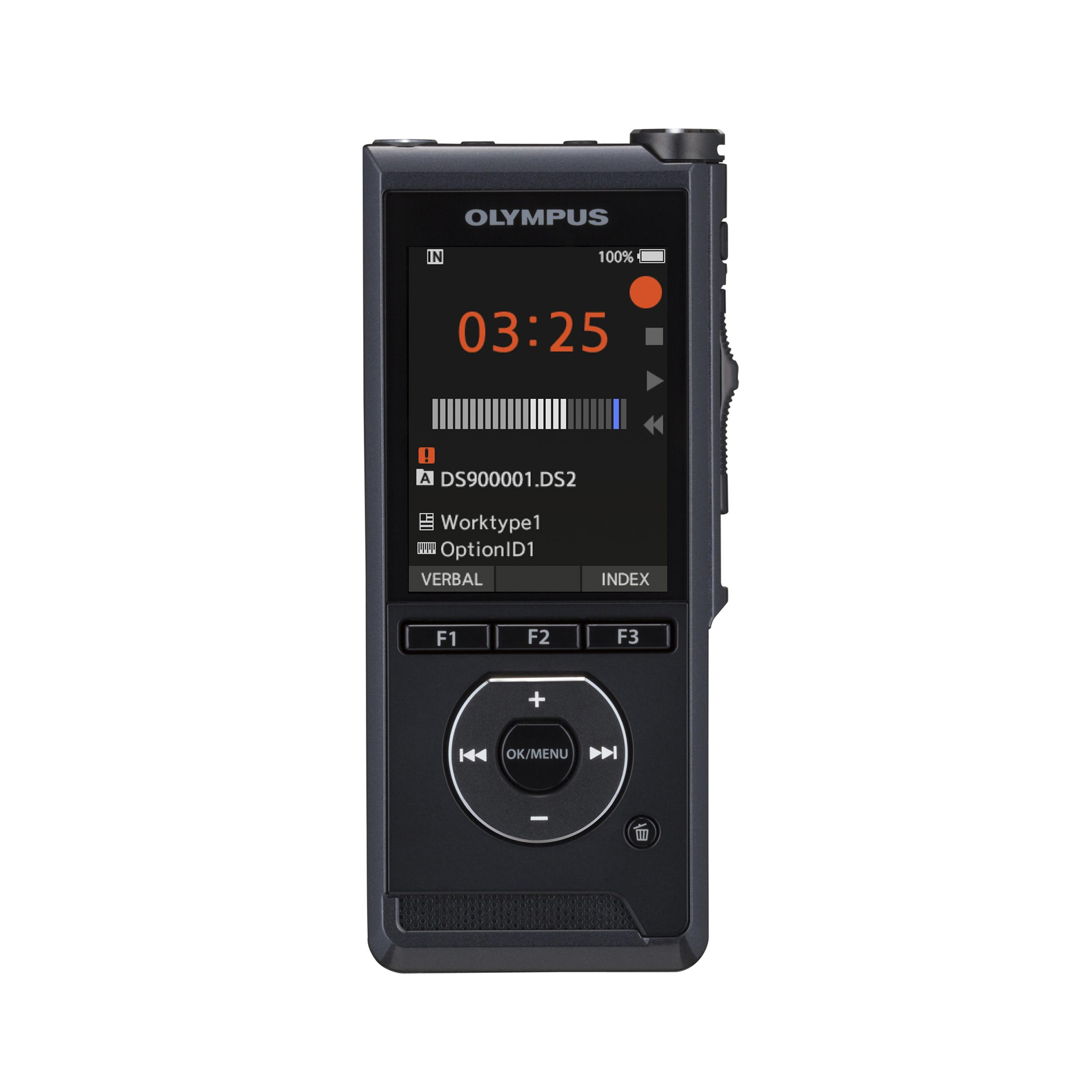 Digital Machines Olympus DS 9000 Mobile Dictation Standard Edition Ref Black V741020BE000