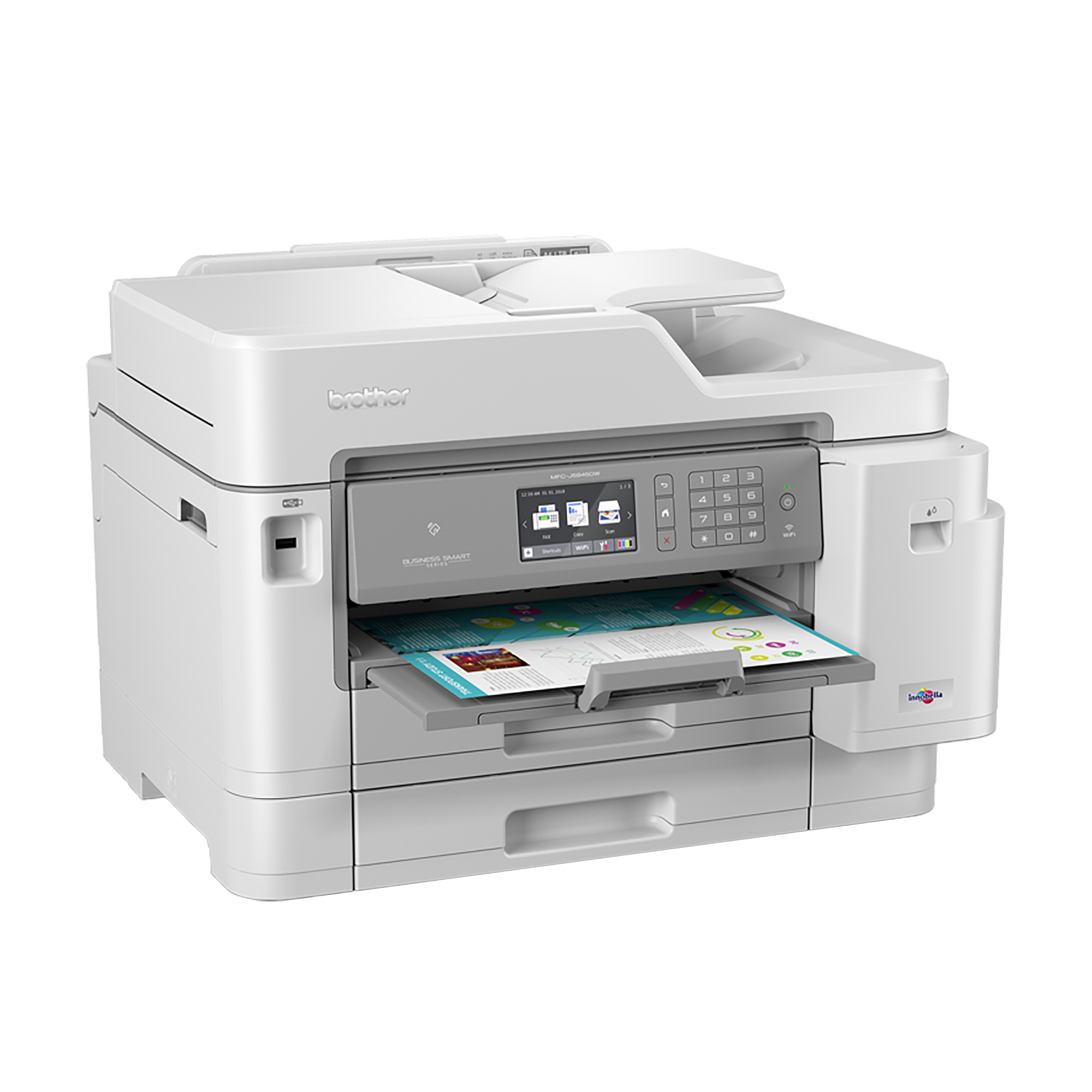 Brother MFC-J5945DW Inkjet Printer Multifunctional 4 in 1 35ppm Ref MFC-J5945DW