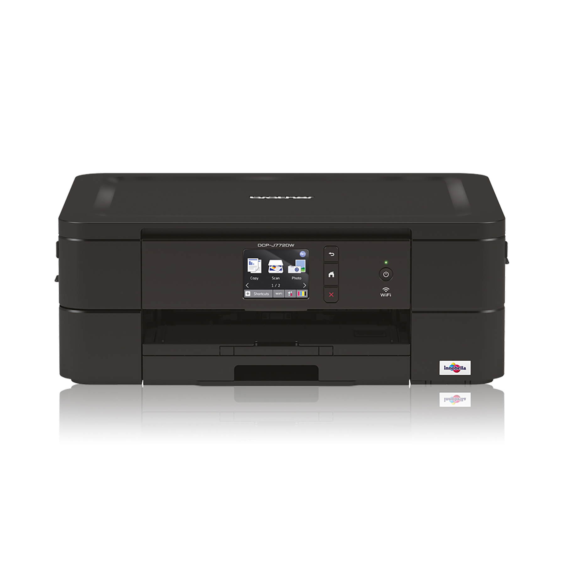 Multi function printers Brother DCP-J772DW Inkjet Printer 3 in 1 Copier Scanner LCD Display Ref DCP-J772DW