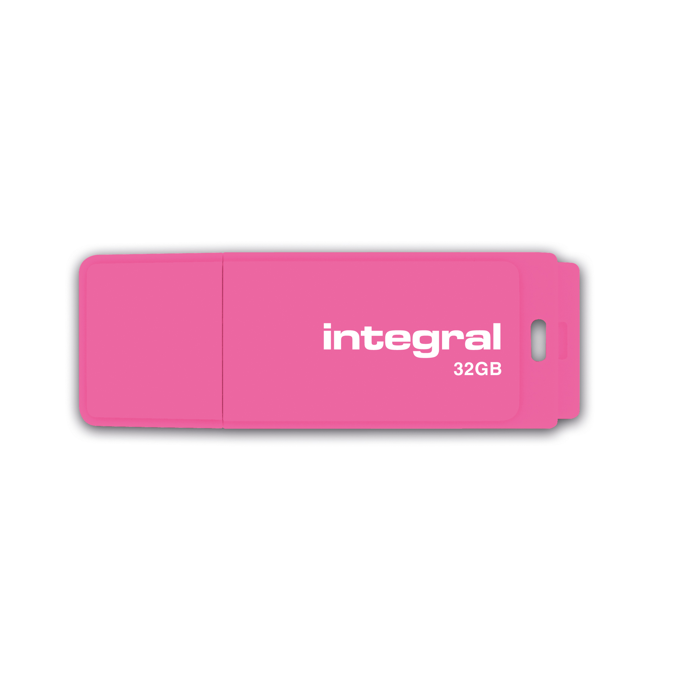 Pen or flash drive Integral Neon USB Drive 2.0 32GB Pink Ref INFD32GBNEONPK