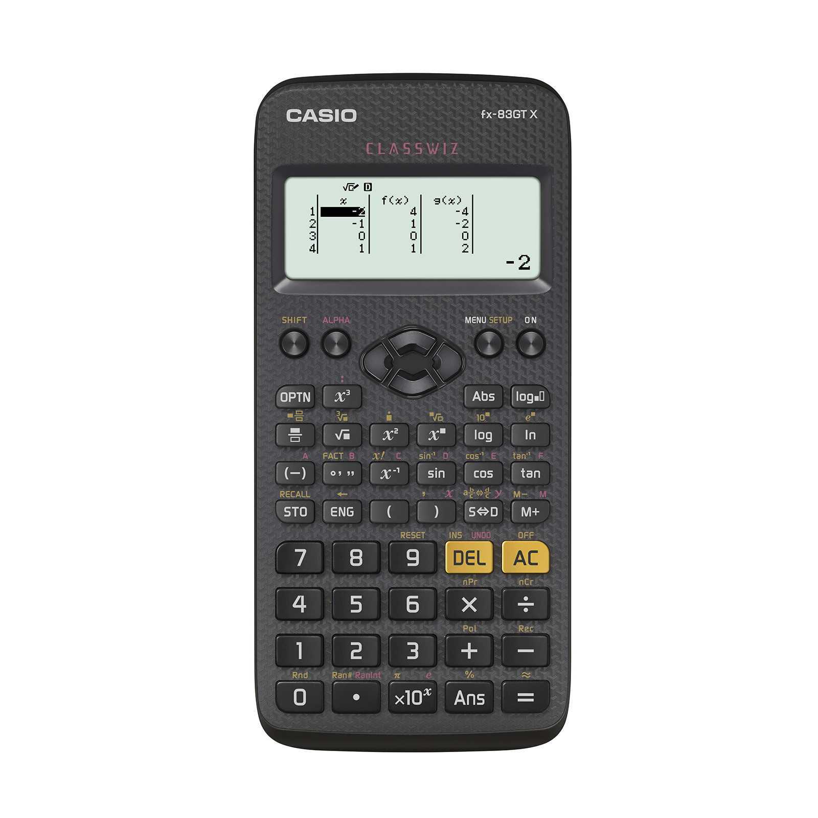 Scientific Calculator Casio FX-83GTX Scientific Calculator Exam Ready Black Ref FX-83GTX