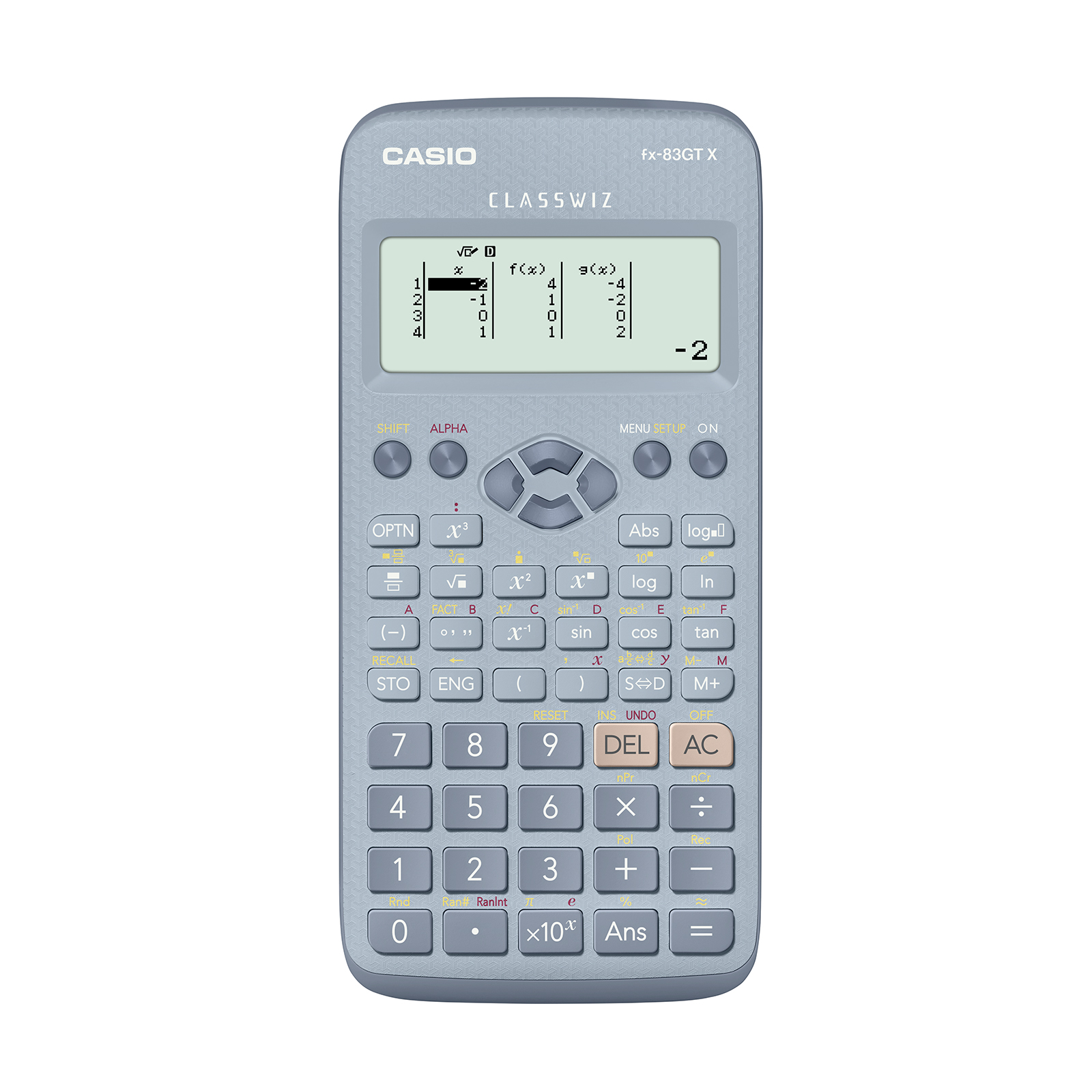 Scientific Calculator Casio FX-83GTX Scientific Calculator Exam Ready Blue Ref FX-83GTX-DB