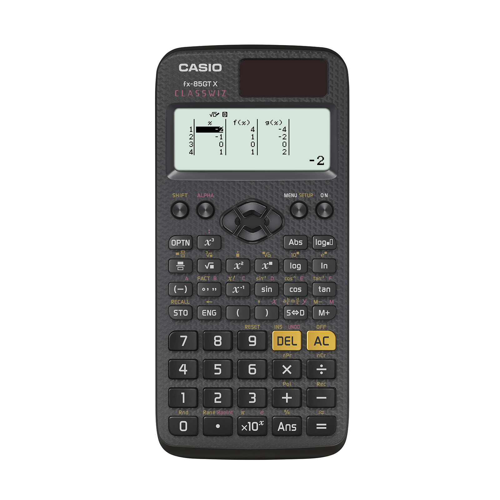 Scientific Calculator Casio FX-85GTX Scientific Calculator Exam Ready Black Ref FX-85GTX