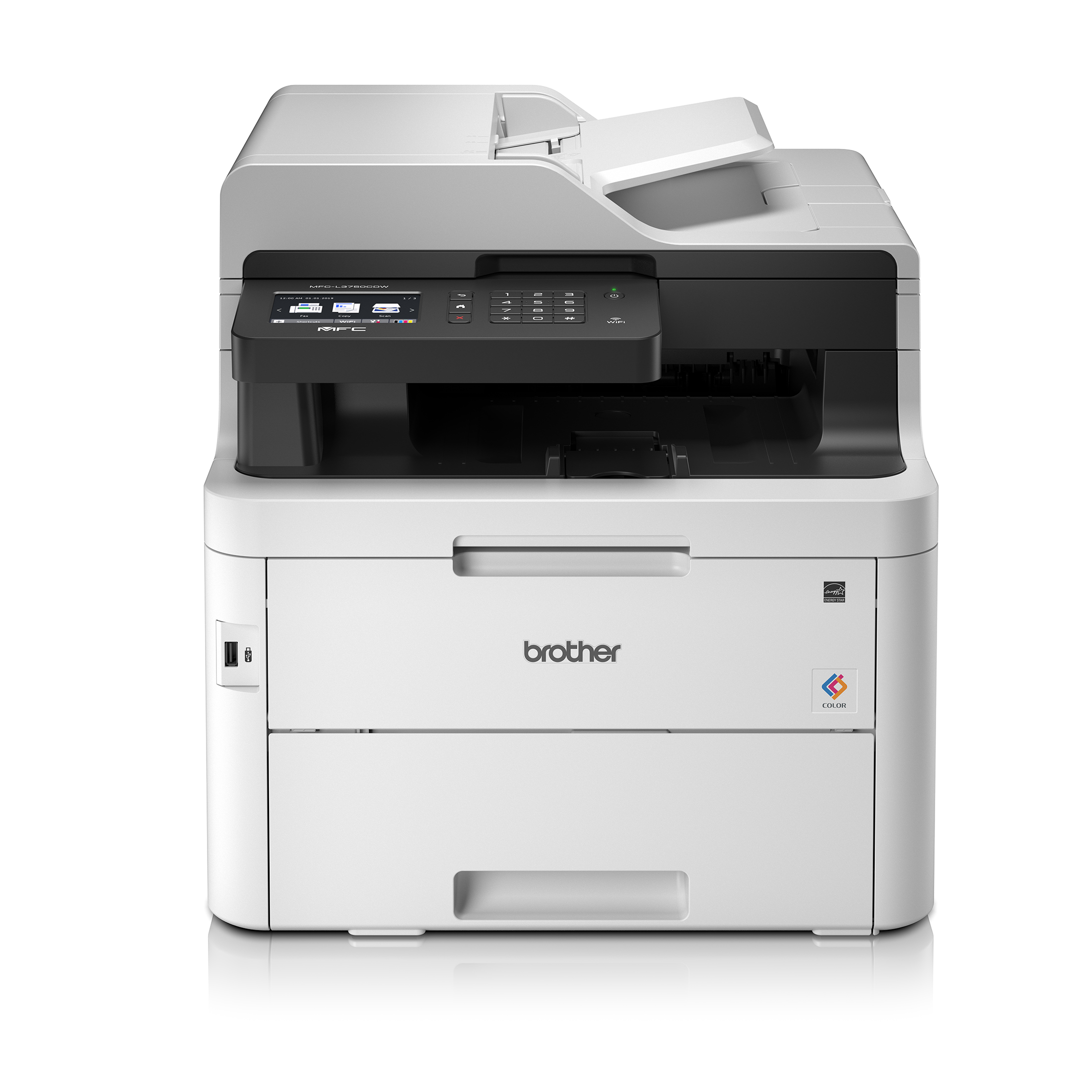 Multi function printers Brother MFC-L3750CDW Colour Laser Printer 4-in-1 LED Display Ref MFC-L3750CDW