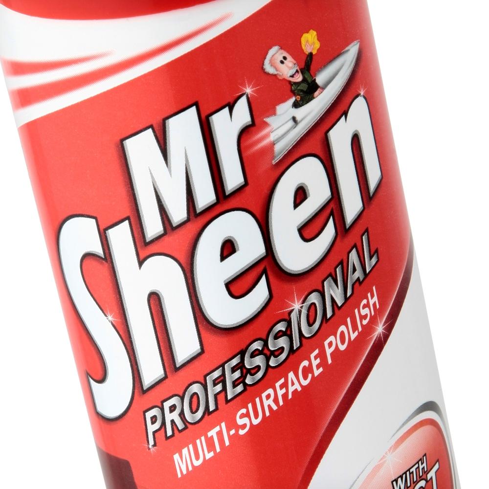 Mr Sheen Professional Multi-Surface Polish Spray 400ml Ref RB750735