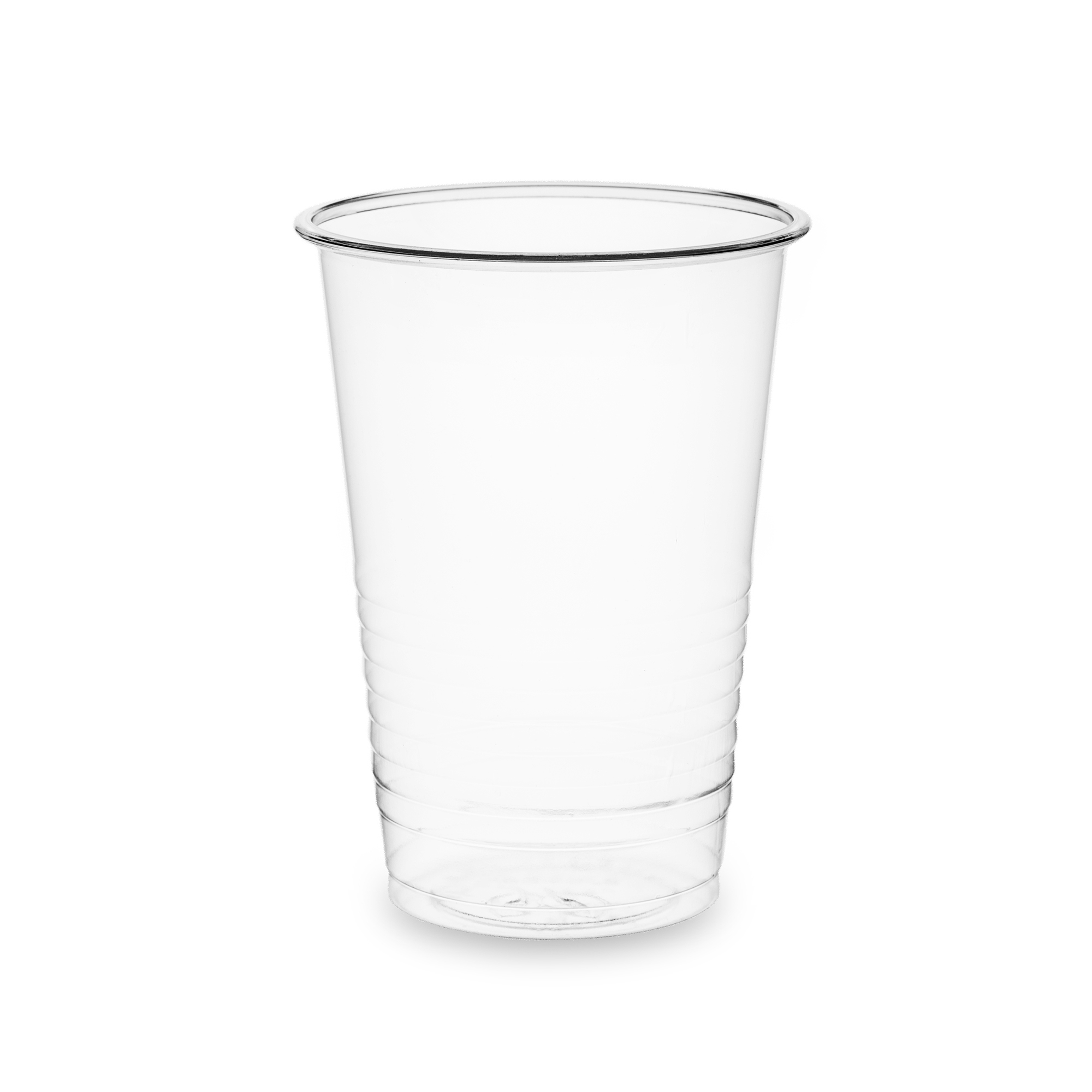 Domestic disposable cups or glasses or lids Vegware Water Cups 7oz PLA Clear Ref VWC-07 [Pack 100]