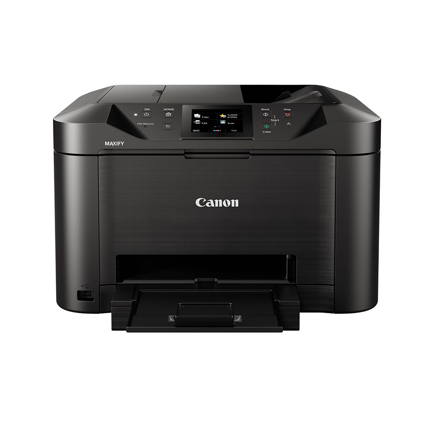 Multi function printers Canon Maxify MB5155 Multifunction Inkjet A4 Printer Black Ref 0960C028