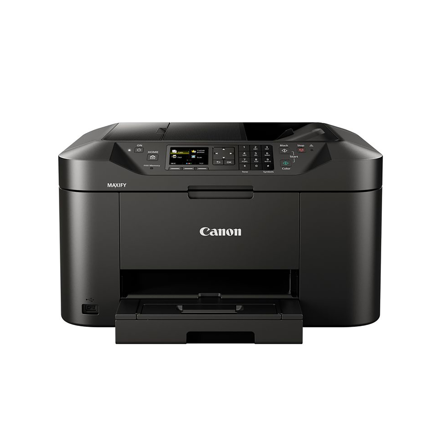Multifunction Machines Canon Maxify MB2155 Multifunction Inkjet A4 Printer Black Ref 0959C028