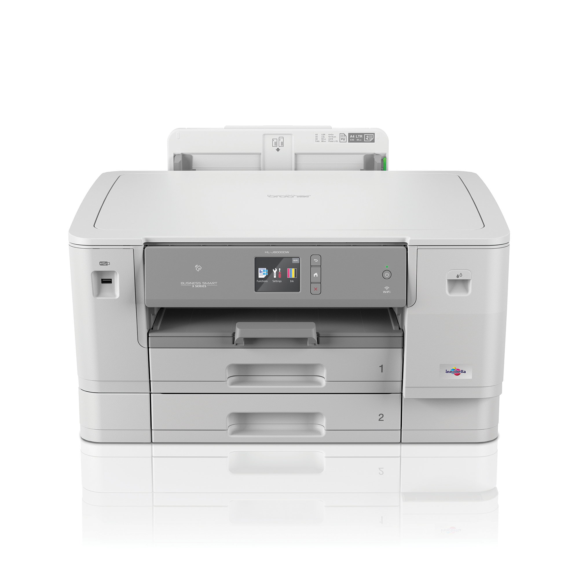 Inkjet Printers Brother HL-J6000DW Single Function A3 Colour Inkjet Printer Ref HLJ6000DWZU1