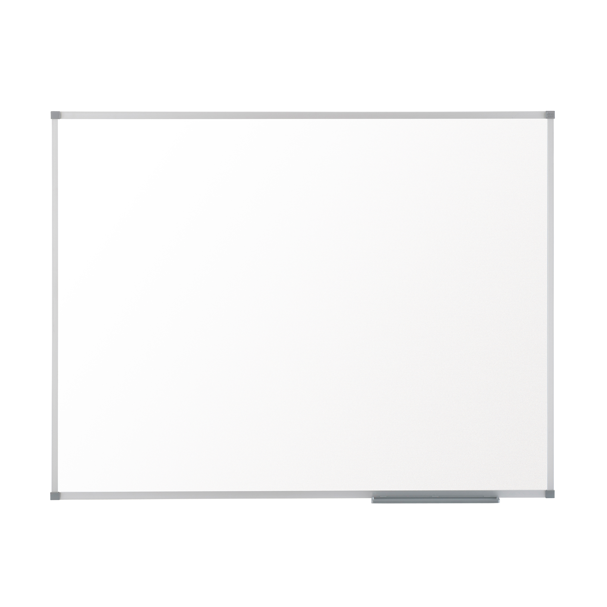 Nobo Basic Steel Whiteboard Magnetic Fixings Included W600xH450mm White Ref 1905209