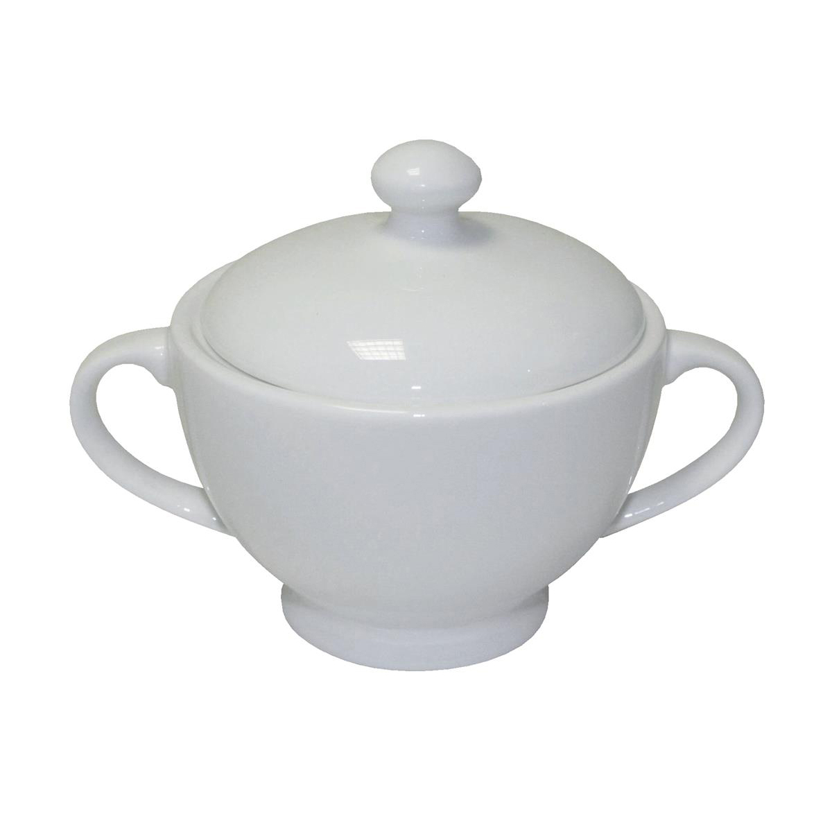 5 Star Facilities Fine Bone China Sugar Bowl and Jug White